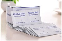 Wholesale Portable box New Alcohol Prep Pads External Use Antiseptic Wipes Isopropyl Sterilization First Aid