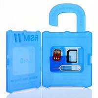Wholesale Sim Unlock Adapter Card - R SIM 11 RSIM11 r sim11 rsim 11 unlock card for iPhone 7 7 plus iOS7 8 9  ios 10 ios10CDMA GSM WCDMA SB AU SPRINT 3G 4G for iphone 5 6s plus