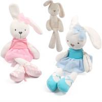 Wholesale Stuffed Animals Mamas - Mamas Papas Baby Plush Toys Cute Rabbit Sleeping Comfort Stuffed Doll Cartoon Bunny Plush Animals Hot Toys For Baby Gifts WX-T65