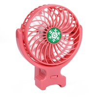 Wholesale Wholesale Handy Fan - New Handy Usb Fan Foldable Handle Mini Charging Electric Fans Snowflake Handheld Portable For Home Office Gifts Retail Box