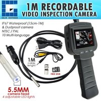 VID-71R-5.5-1M 5.5mm Camera Recordable Video Inspection 2.4