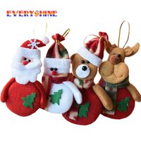 Wholesale Ornaments For Christmas Tree - 24Pcs Chrismas Tree Decorations For Home Santa Claus Snowman Christmas Gifts Ornaments Supplies Pendant Arbol De Navidad Sd 15