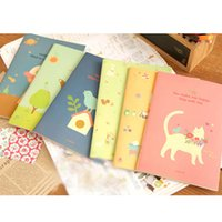 Kawaii di cancelleria carino A5 Notebook 20 fogli Blocco note diario ufficiale Registra School office supplies per i regali per bambini