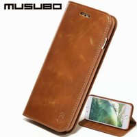 Wholesale stand for galaxy s3 - Stand Cover For Galaxy S8 Plus Musubo Luxury Leather Flip Cover for Samsung S7 edge S8 S6 edge Plus S5 S4 S3 Cases wallet phone bag