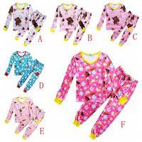 Wholesale Cheap Baby Sleepwear - moana kids clothing set maui baby girl outfits kids sleepwear nightwear homewear wholesale top quality with cheap price