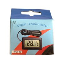 Wholesale Brand new Professinal Mini Digital LCD Thermometer Fish Tank Water Temperature Sensor Fridge Freezer Thermometer