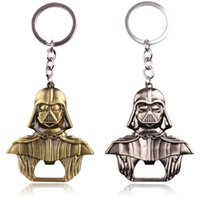 Wholesale Star Wars Items - 20PCS Lot Hot Items Star Wars Mask Darth Bottle Opener key chain Shipping Agent