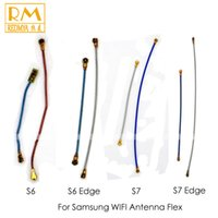 Wholesale Galaxy Signal Antenna - 5pcs lot Original For Samsung Galaxy S7 S7 Edge GT-G935 G935F G935A G935V G935T G935P WIFI Signal Antenna Flex Cable Ribbon Replacement Part