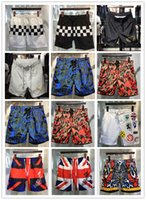 Wholesale Drawstring Leopard - 2017 summer High quality Hot Sale DSQ2 brand New designer mens leisure beach surf swimming shorts NEW skull swimsuit men shorts pant