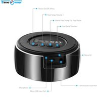 Wholesale mini car tv - Wholesale- Portable Wireless Bluetooth Speaker Subwoofer Speakers Support TF for Android IOS PC Mac TV Box Car-Playing Syste with Mic