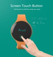 Wholesale Cute Android - TLW08 Cute Bluetooth 4.0 Smartband Pedometer Sport Smart Wristband Fitness Tracker Smart Band For Android and IOS