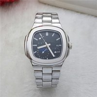 Wholesale Red Mail - 2017 relogio mens watches Luxury dress designer fashion Black Dial Calendar gold Bracelet Folding Clasp Master gifts couples Package mail
