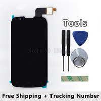Wholesale iphone fpc - Wholesale- 5243J FPC-2 REV:3 FPC-S93506-2 V01 For innos D9 D9C DNS- S4502 LCD Display + Touch Screen digitizer + Tool