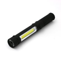 Wholesale Ourdoor Sport Led Flashlight Multifuction Cob Camping Portable Mini Flashlight Magnetic Torch Flashlight Black Blue Orange