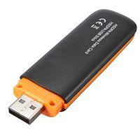 Wholesale Wired 3g Dongle - Wholesale- HSDPA Wireless 7.2Mbps 3G Modem USB Modem Hotspot Dongle 3G Usb Modem WCDMA GSM EDGE SIM card