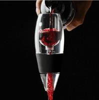Wholesale Magic Wine Aerator - Magic Wine Decanter Quick Wine Aerator Wine Essential Equipment Wines Hopper Filter Bar Tools 300pcs OOA2125