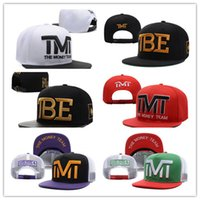 Wholesale Full Money - New Design Wholesale-Full black the team money Snapback caps hiphop adjustable hat men & women classic baseball Hats Cheap