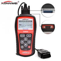 Wholesale Universal Diagnosis Tool - Wholesale- KONNWEI KW808 Universal Car OBDII EOBD Code Reader Scanner OBD2 Diagnosis Scan Tool OBD 2 II PK Maxiscan MS509 ODB ODB2 Scaner