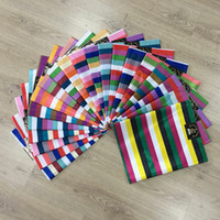 Wholesale Headtie Free Shipping - African Sego Headtie Multi Color High Quality, Free Shipping HeadTie & Wrapper 015, 2pcs Bag, African Wedding Party Sego Headtie