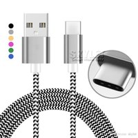 Wholesale Usb Cable For Galaxy 6ft - For Samsung Galaxy S8 Type C Cable Data Sync Cable 3FT 6FT 10FT Colorful Braid Micro USB Cable V8 Charging No Package
