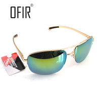 Wholesale beautiful bat - Wholesale- OFIR Men Driving Sunglasses Cool Bat Mirror UV Protection Pilot Sun Glasses For Women Beautiful Eyewear Gafas De Sol ALU-3