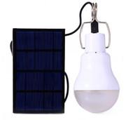 Wholesale Solar Energy Wholesale - 2017 New Portable LED solar lights S-1200 15W 130LM Led Light bulbs Charged Solar Energy Lamp garden camp Outdoor Lighting