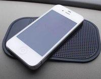 mattenhalter für telefon großhandel-Schwarz Auto Armaturenbrett Klebrige Pad Matte Anti Rutschfeste Gadget Handy GPS Halter Inneneinzelteile Zubehör