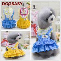 Wholesale New Sale Dresses Wedding - 2017 New Puppy Cop Dog Clothes Hot Sale British Style Dress