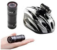 полный hd видеокамеры cmos оптовых-Full HD 1080P DV камера мини портативный водонепроницаемый велосипед мотоцикл шлем спорта на открытом воздухе DVR DV видео действий камеры мини видеокамеры