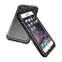 Wholesale Plastic Fingerprints - For iphone 6s 6 plus 5s Ultra thin PVC Waterproof Shockproof Fingerprint IP68 Diving Swimming Cover Case with retail package