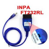 Wholesale Can Protocol - New INPA K+CAN for BMW with FT232RQ Chip with Switch for BMW with 8 Pin and K-LINE Protocol From 1998 To 2008 Better Than FT232R