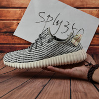 Wholesale Cheap Brown Oxfords - 2017 Cheap boost 350 Boost pirate black turtle dove moonrock oxford Tan Best Quality Running Shoes kanye west 350 With Box