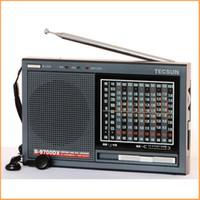 Wholesale high band radio - Wholesale-TECSUN R-9700DX Original Guarantee SW MW High Sensitivity World Band Radio Receiver With Speaker Free Shipping