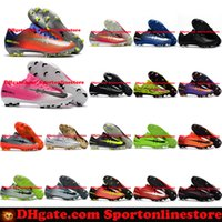 Wholesale High Boot For Men - Mercurial Vapor XI FG Mens Football Boots New Soccer Shoes Mercurial Soccer Cleats For Men Cheap High Quality Football Cleats Soccer Boots