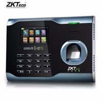 Wholesale Time Attendance Software Free - Finger Print Time Attendance WIFI Time Aattendance System with ZEM510 Hardware Platform Wireless Attendance U160 Free Software