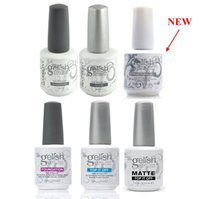 Wholesale Uv Gel Polish Art - Harmony Gelish Nail Polish Gel Soak off LED UV STRUCTURE GEL TOP it off and Foundation nail art Gel Polish frence nails