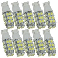 10pcs T10 LED Wedge Bulb 12V T10 28 SMD 3528 168 194 led W5W Auto Led ampoule pour voiture Signal Bulbs Dome Lights