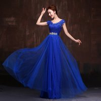 Wholesale Luxury Banquet Dress - Evening Dress 2017 The Bridal Banquet Party Elegant Long Prom Dresses Luxury Lace Plus Size Mother Of The Bride Dresses F