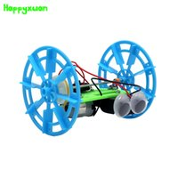 Wholesale Small Plastic Robot Toy - Happyxuan Science Experiment DIY Two Rounds Balance Robot Model Technology Creative Invention Small Production Parent Child Toys