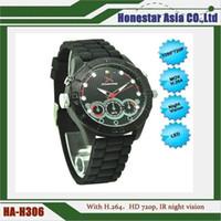 Wholesale High Quality Spy Watch - 8G Spy watch hidden camera sports watch camera HD 1280*720 waterproof spy watch dvr recorder with high quality