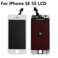 Wholesale Iphone Screens Sale - Factory Sales For Apple iPhone SE 5S OEM Century LCD Screen with Digitizer Display Assembly Repair Replacement DHL Free Shipping
