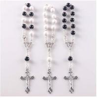 Wholesale Rosary Handmade - Mix colors Wholesale PULSERAS DECENARIOS,HANDMADE CROSS Knotted Rosary Bracelets
