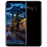 black curved - ERQIYU Goophone S8 S8 smartphone Curved screen MTK6592 Octa Core shown G LTE Android Unlocked G RAM G ROM Cell phone