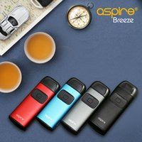 Wholesale Original Dock - Aspire Breeze Kit Latest All-in-one Device Built-in 2ML Tank U-tech Coil with Charging Dock Breeze Auto On off 100% Original