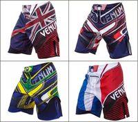 Wholesale Muay Thai Boxing Shorts - Free shipping New Fashion MMA Short Man's Boxing Shorts Muay Thai Boxeo Shorts Mma Fight Trunks Sports Trunks sport shorts