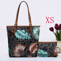 Wholesale Christmas Painting Famous - luxury brand bag for women 2017 painting leather pu bags new arrival famous brand tote bag#3224