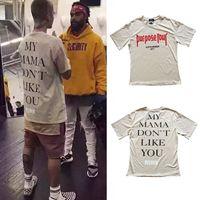 Wholesale God Flash - Wholesale- Justin Bieber Purpose Tour T-shirt Men Fear Of God Letter Print Casual Hip Hop Tshirt Summer Mens Tee Clothes Homme US Size