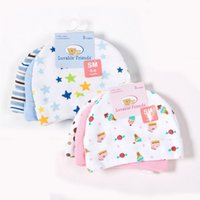 Wholesale Luvable Friends Wholesale - 3pcs lot Baby Hats Luvable Friends Pink Blue Star Printed Baby Hats & Caps for Newborn Baby Accessories