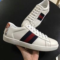 Wholesale Top Sport Shoes Designer Brands - 2017 Fashion men casual sneakers with top quality and new luxury brands designer leisure leather sport running and walking shoes hot selling