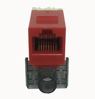 Wholesale Information Outlets - UTP CAT6 network module RJ45 connector information socket Computer Outlet IO Cable adapter Keystone Jack